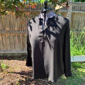 Black Long Sleeve Blouse - Size 3X